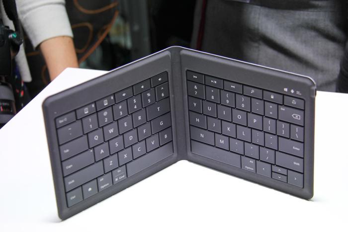 Nuevo teclado plegable de Microsoft para todo tipo de dispositivos móviles, Imagen 1