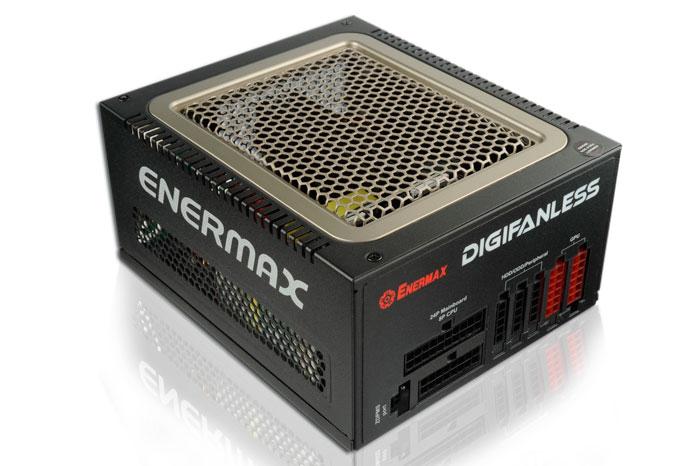 Enermax prescinde de ventiladores en su nueva fuente Digifanless 550W, Imagen 1