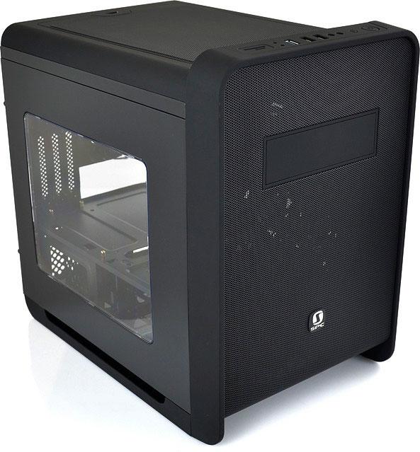 SilentiumPC se apunta a las cajas cúbicas con su Alea M50 Pure Black, Imagen 1