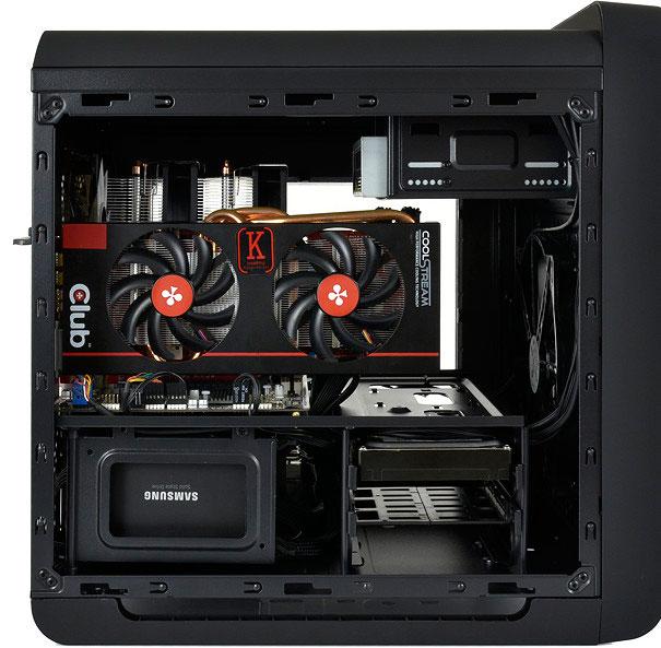 SilentiumPC se apunta a las cajas cúbicas con su Alea M50 Pure Black, Imagen 2