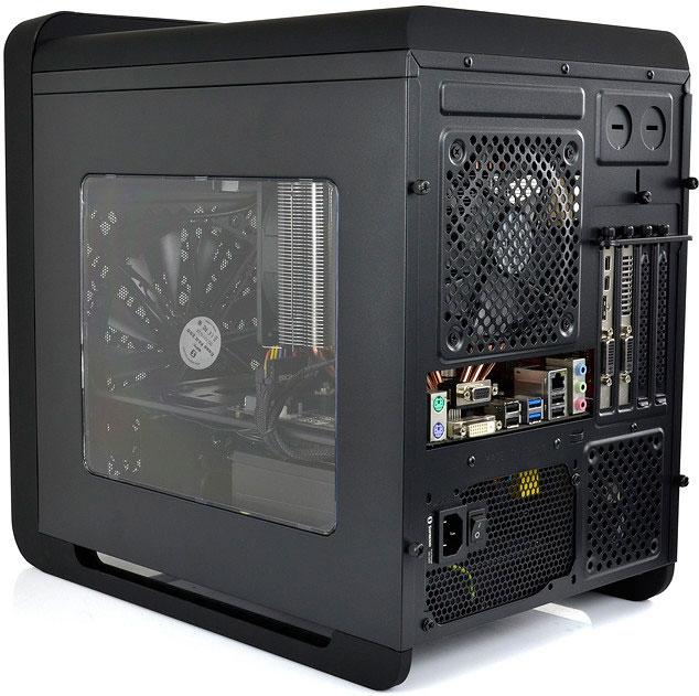 SilentiumPC se apunta a las cajas cúbicas con su Alea M50 Pure Black, Imagen 3
