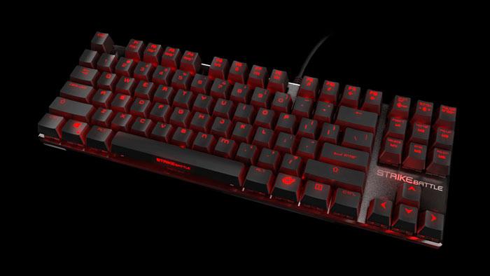 Ozone Strike Battle, nuevo teclado mecánico compacto, Imagen 1