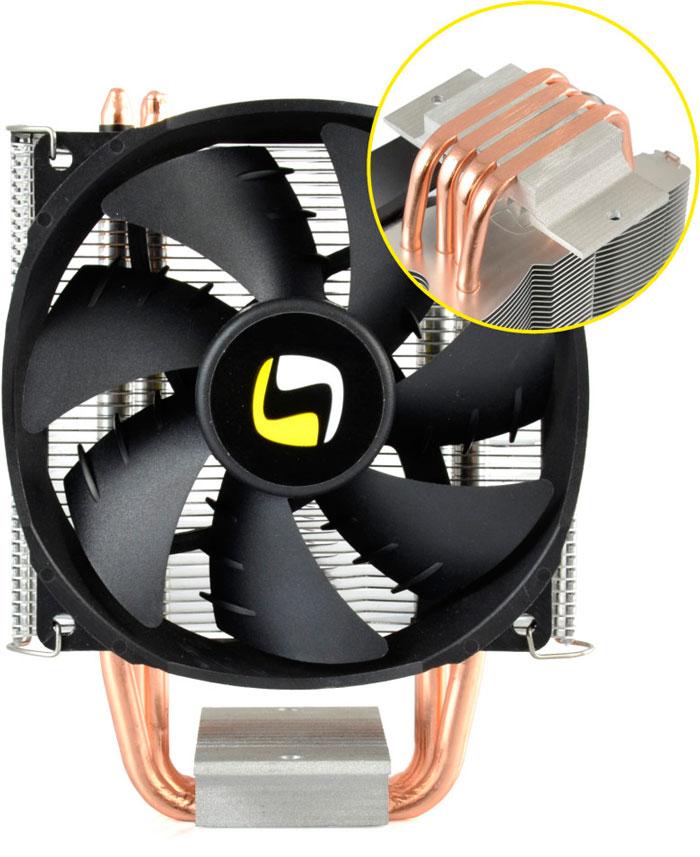 SilentiumPC Spartan Pro-B HE924, nuevo disipador con heatpipes de contacto directo con la CPU, Imagen 1