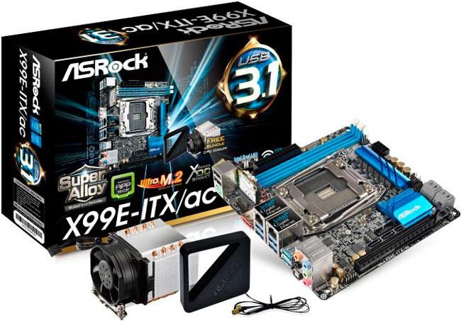 ASRock X99E-ITX/ac, una placa Mini-ITX para procesadores Haswell-E, Imagen 1