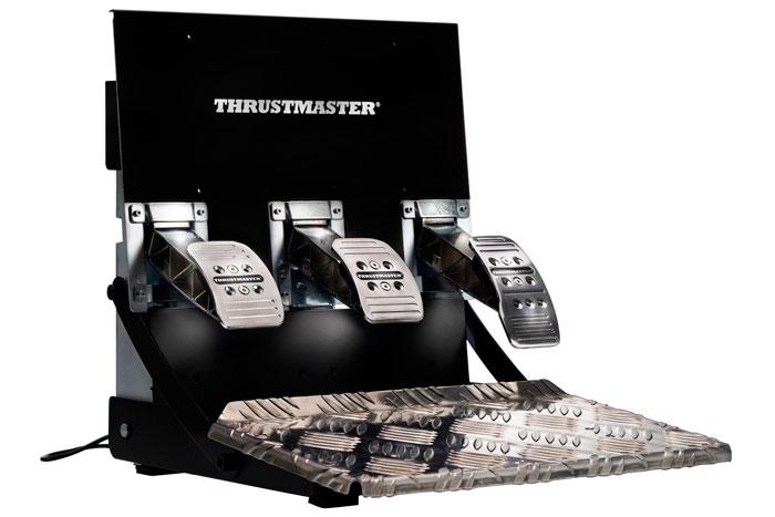 Thrustmaster T3PA-PRO, tres pedales metálicos para los entusiastas de la simulación, Imagen 1