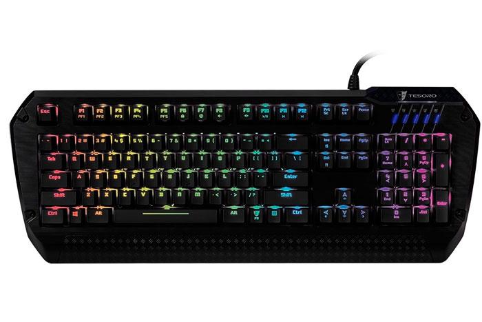 Tesoro Lobera Spectrum, teclado mecánico con retroiluminación RGB, Imagen 1