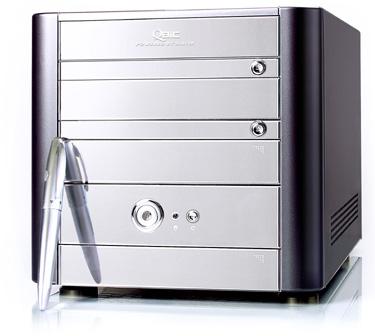 Speed 2 comercializa el mini barebone QBIC EQ3401 de Soltek, Imagen 1