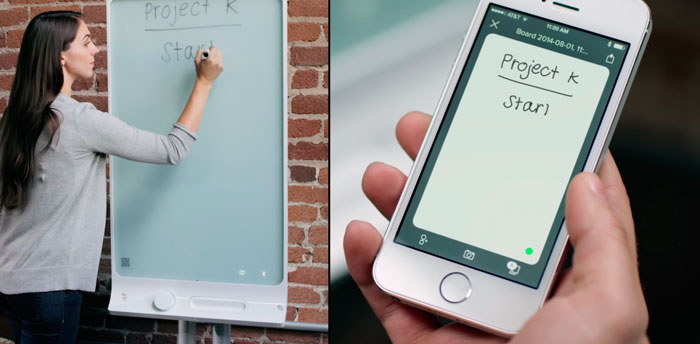 SMART kapp, de la pizarra al smartphone al instante, Imagen 1
