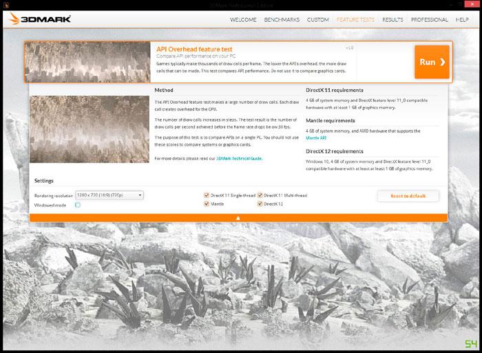 El 3DMark ya permite comparar DirectX 12, DirectX 11 y MANTLE, Imagen 1