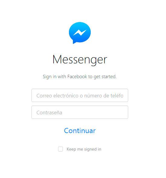 El Messenger de Facebook ya tiene su versión Web, Imagen 1