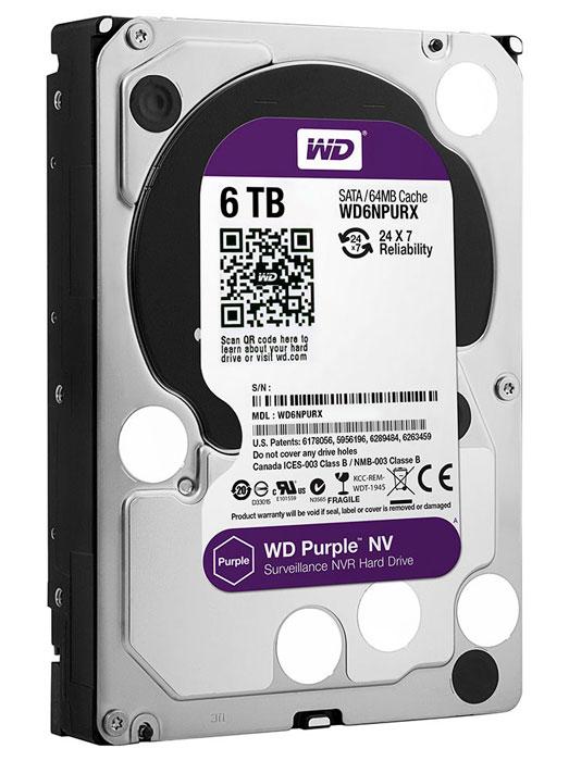 Nuevos discos duros para videovigilancia Western Digital Purple NV, Imagen 1