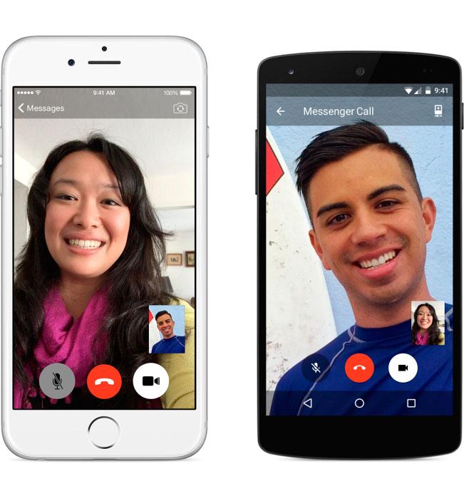 Facebook da el salto a las videollamadas con Messenger, Imagen 1