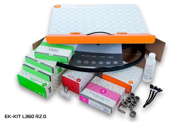 EK lanza tres nuevos kits de refrigeración líquida de alto rendimiento, Imagen 1