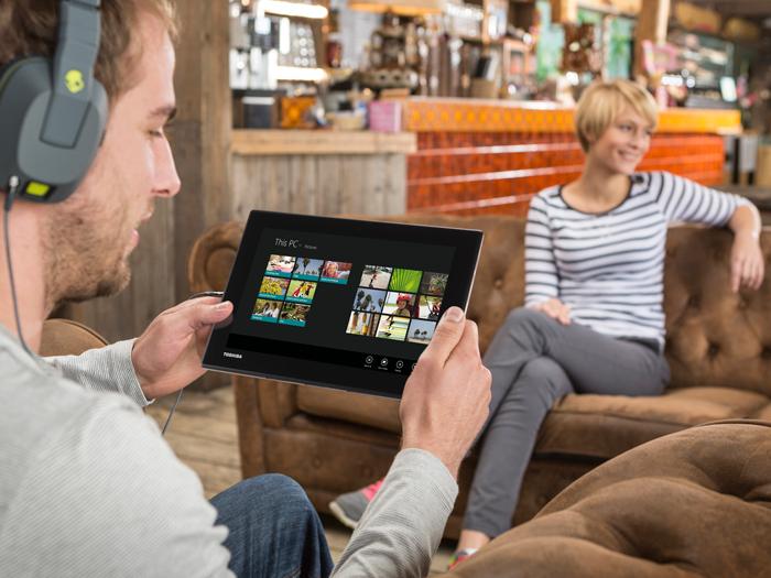 Toshiba lanza en España su nuevo tablet híbrido Click Mini , Imagen 2
