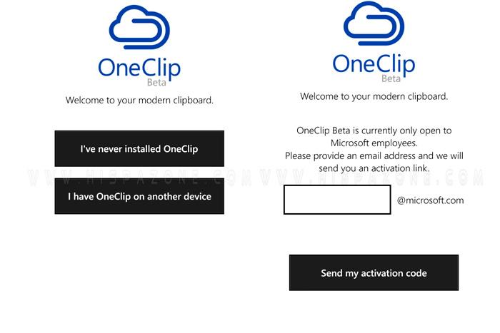 Microsoft prepara Oneclip, un portapapeles multidispositivo, Imagen 1