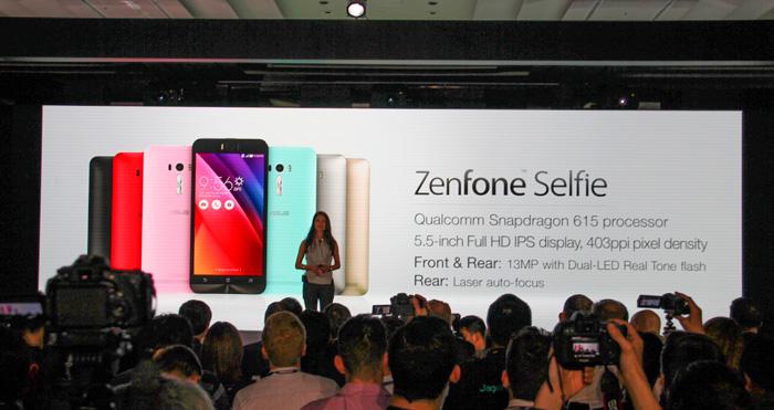 ASUS anuncia el Zenfone Selfie cámara frontal de 13 megapíxeles y doble flash, Imagen 1