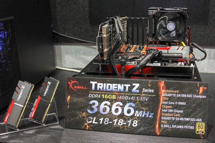 G.SKILL resucita la gama TRIDENT con nuevos módulos DDR4, Imagen 1