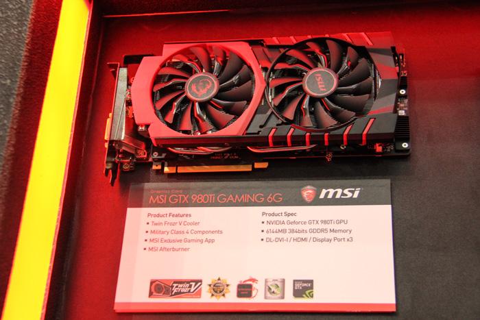 MSI muestra sus dos primeras GTX 980Ti personalizadas, Imagen 1