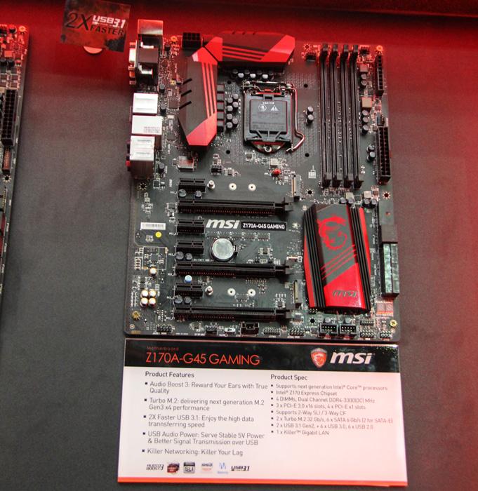 MSI también muestra sus placas base para Skylake, Imagen 1