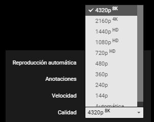 Youtube ya soporta vídeos a 8K, Imagen 1