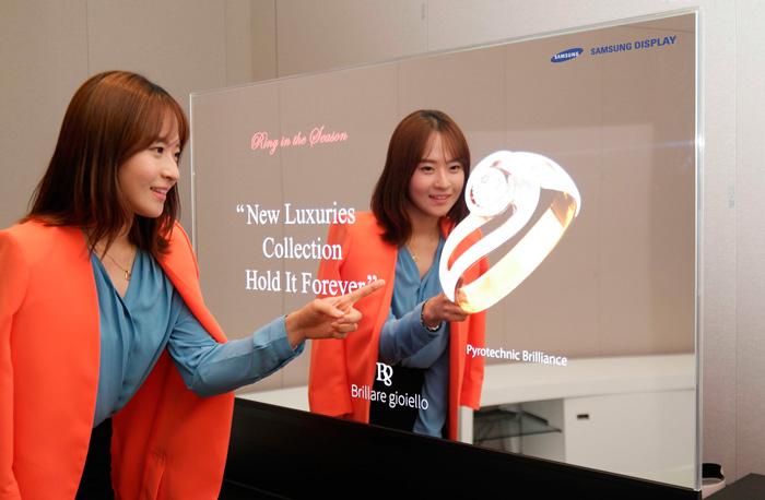 Samsung muestra su prototipo de pantalla OLED transparente, Imagen 2