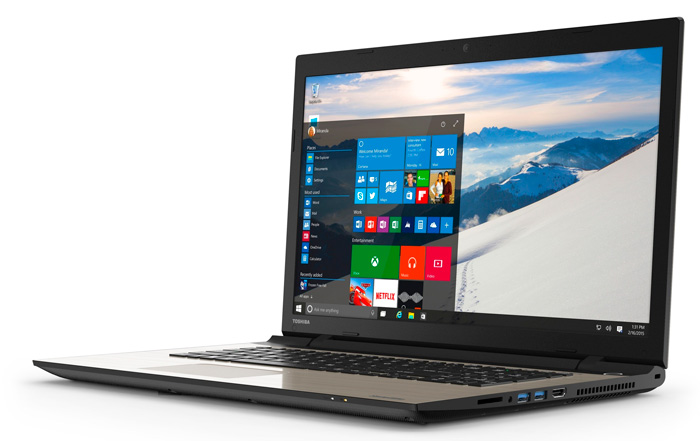 Toshiba Satellite L, nuevos portátiles preparados para Windows 10, Imagen 1