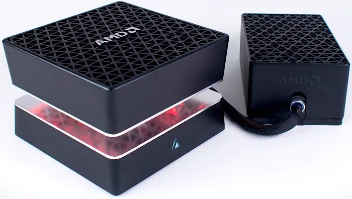El mini PC AMD Project Quantum lleva un procesador Intel, Imagen 1