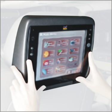 Cuatro pantallas táctiles en tu coche con el eUV de ViewSonic, Imagen 1