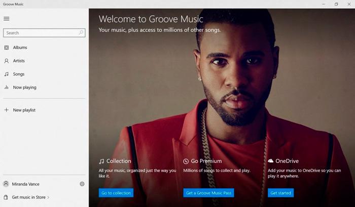 El reproductor de música de Windows 10 pasará a llamarse Groove, Imagen 1