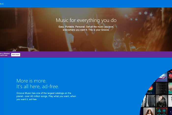 El reproductor de música de Windows 10 pasará a llamarse Groove, Imagen 2