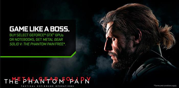 NVIDIA regala el Metal Gear Solid V por la compra de sus GeForce GTX 900, Imagen 1