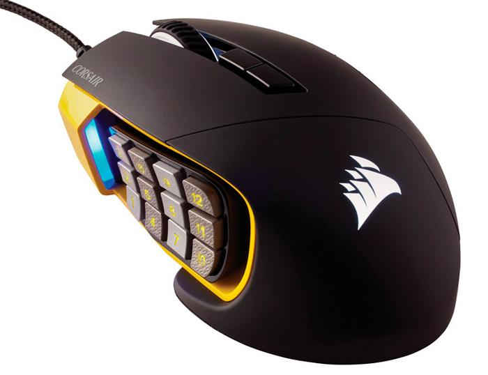 Corsair añade botones mecánicos con posición variable a su nuevo ratón SCIMITAR RGB, Imagen 1