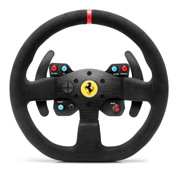 Thrustmaster lanza el exclusivo volante 599XX EVO 30 Wheel Add-On Alcantara Edition , Imagen 1