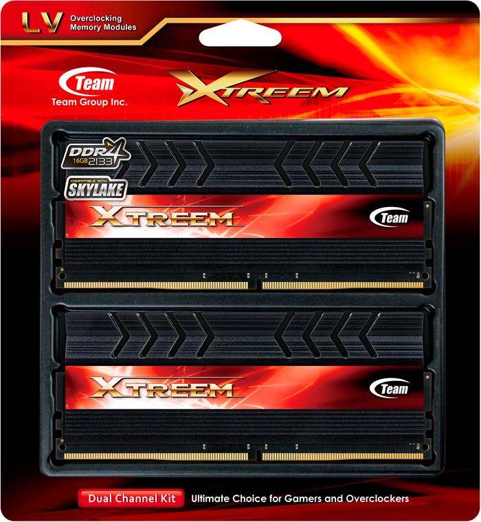 Nuevas memorias Xtreem DDR4 de Team Group, Imagen 1