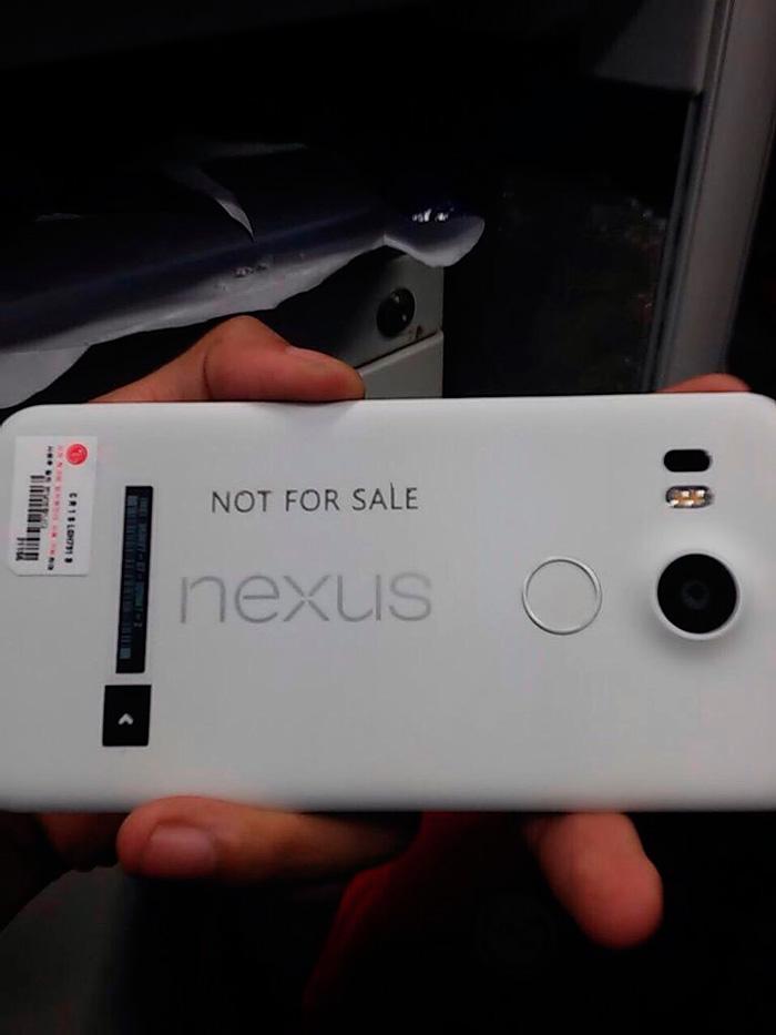 Filtrado el aspecto del nuevo Nexus 5 de LG, Imagen 1