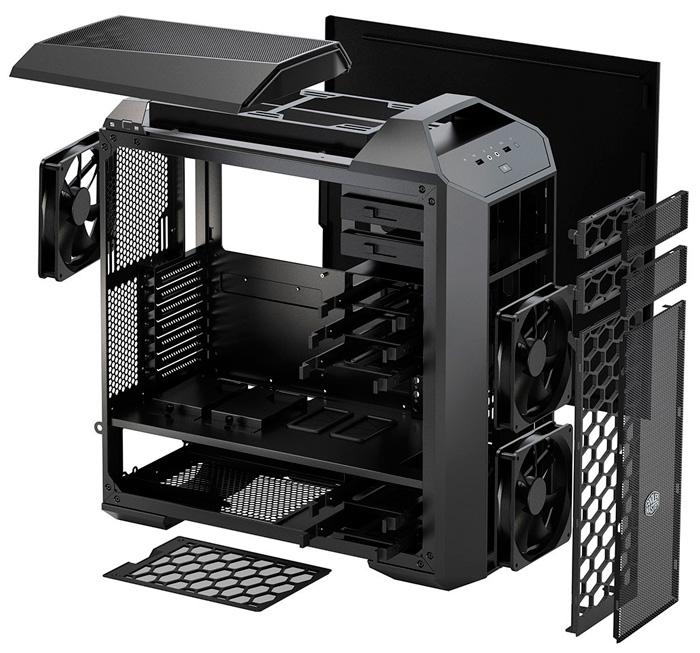 Cooler Master lanza oficialmente sus torres personalizables MasterCase 5, Imagen 2