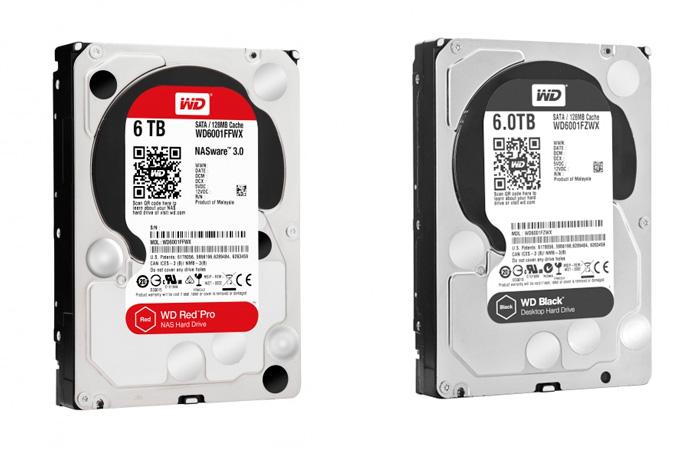 Western Digital actualiza sus discos duros Black y Red con modelos de 5 y  6 TB, Imagen 1