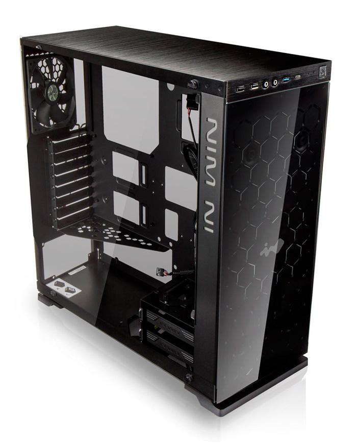 In Win 805, nueva torre ATX de aluminio y vidrio, Imagen 1