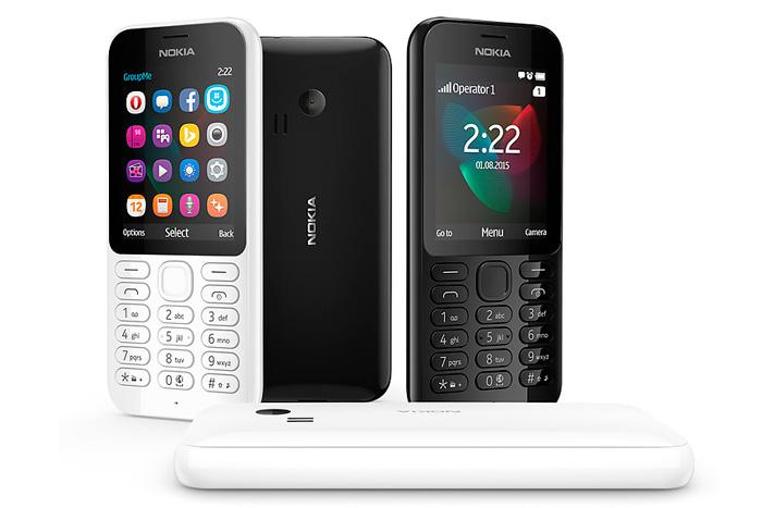 Microsoft lanza el asequible Nokia 222, Imagen 1