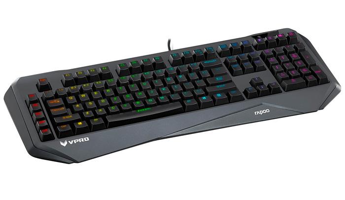 Rapoo V800S y V910, teclado y ratón RGB para jugadores, Imagen 2