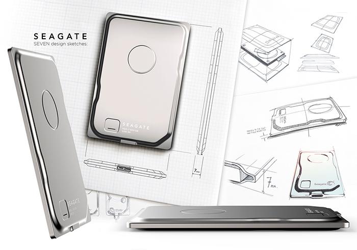 El disco externo ultrafino de Seagate ya alcanza los 750 GB, Imagen 1