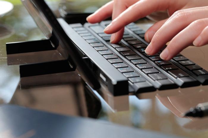 LG Rolly Keyboard, un teclado plegable de tamaño completo, Imagen 2