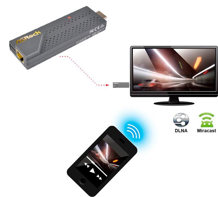 ASRock H2R, un router de bolsillo con HDMI, Imagen 1