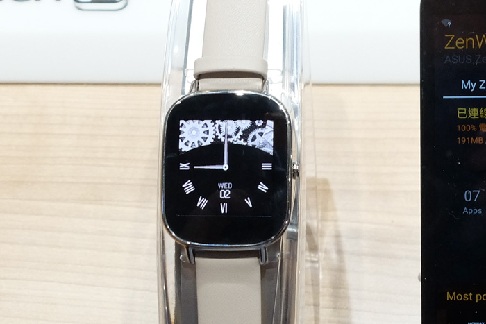 El ASUS ZenWatch 2 llegará en octubre por 149 Euros, Imagen 2