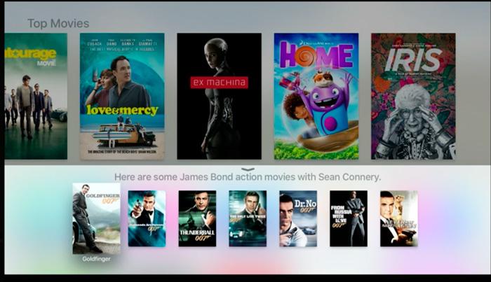 Nuevo Apple TV con integración con Siri, Imagen 2