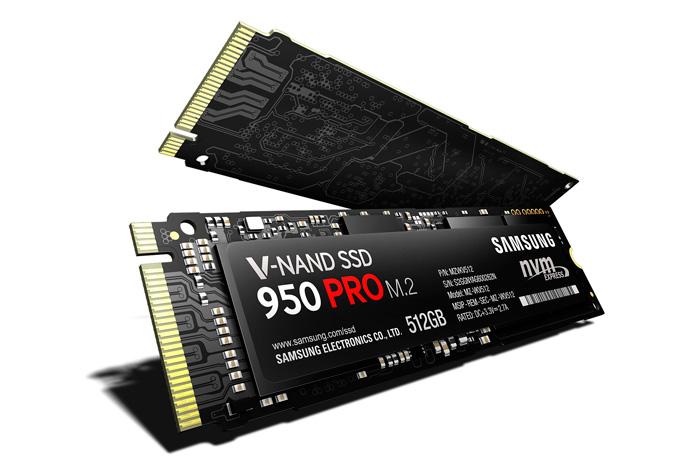 Samsung lanza una versión NVMe de sus SSD 950 PRO con 2.500 MB/s de velocidad de lectura, Imagen 1