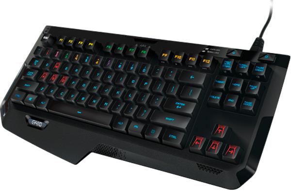Logitech apuesta por interruptores mecánicos en su teclado G410 Atlas Spectrum, Imagen 1
