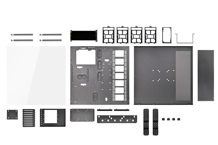 Thermaltake Core P5, una torre ATX personalizable con piezas impresas en 3D, Imagen 3