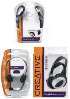 Creative lanza tres modelos de auriculares, uno para cada tipo de usuario, Imagen 1