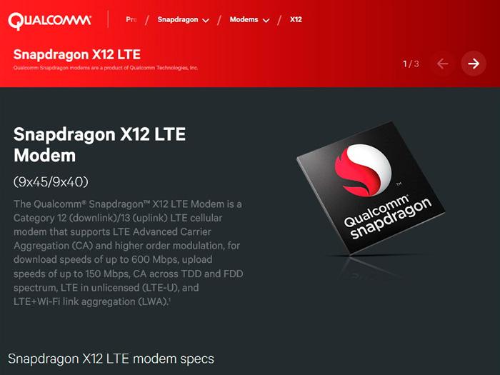 Qualcomm detalla sus nuevos módems LTE para portátiles y tablets con Windows 10, Imagen 1